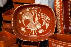 Cockeral Clay Platter
