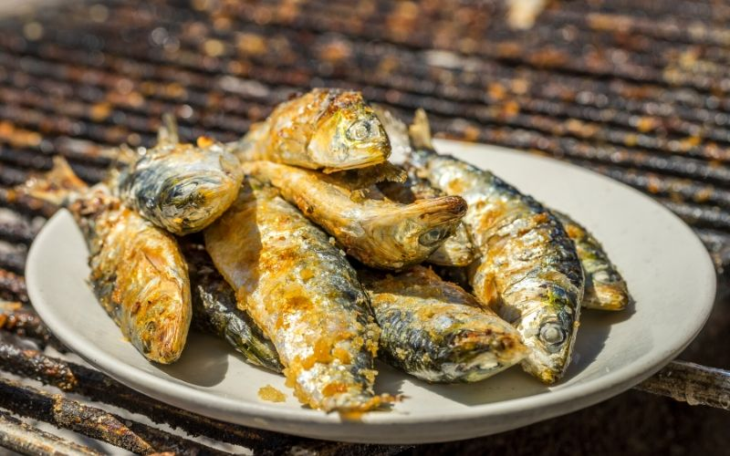 Grilled Sardines Portugal