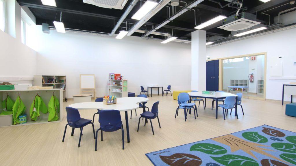 United Lisbon School Classroom
